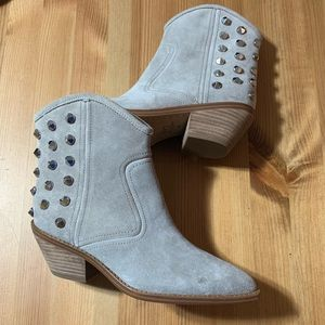Marc Fisher LTD Baily Studded Western Bootie NWOB